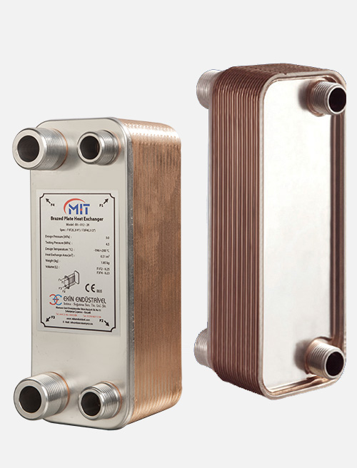 MB - 02 Model Brazed Heat Exchanger