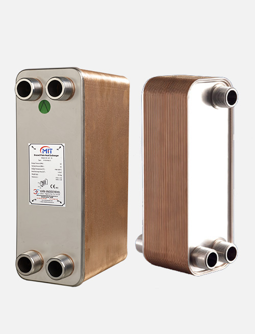 MB - 05 Model Brazed Heat Exchanger