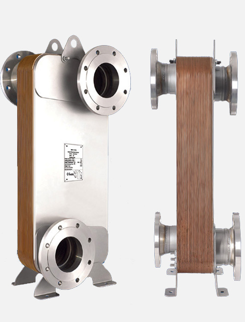 MB - 12 Model Brazed Heat Exchanger